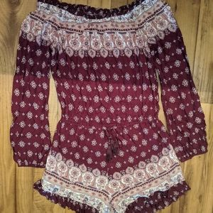 Brand New india inspired romper size small